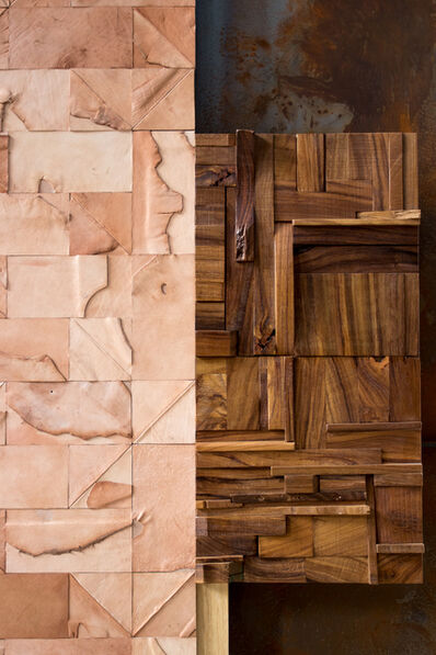 Peter Glassford, 'Parota wood collage tile ', 2014 -present