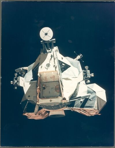 Ronald Evans, 'The ascent stage of the Lunar Module returning from the Moon, Apollo 17, December 1972'