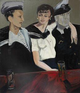 Claudia Doring Baez, 'Brassaï – Conchita with Sailors, Place d'Italie, Paris c. 1933', 2019
