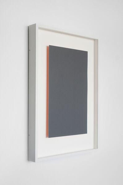 Susan York, 'Achromatopsia 1 (orange)', 2015