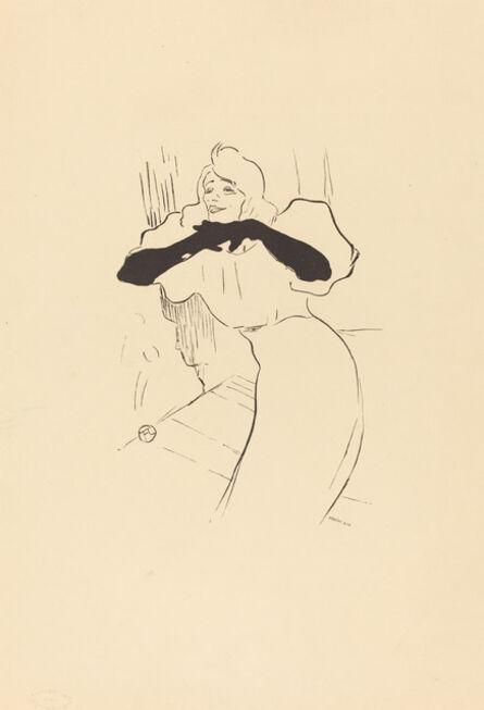 Henri de Toulouse-Lautrec, 'Yvette Guilbert: Linger, Longer, Loo'