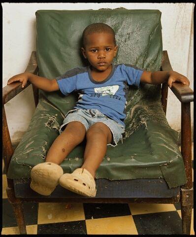 Andres Serrano, 'Yaikel on a green chair, Havana (Cuba)', 2012