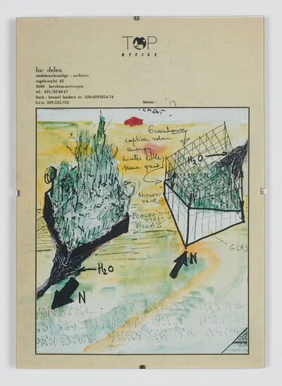 Luc Deleu & T.O.P. office, 'Self-supporting House', 1979