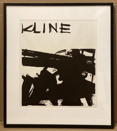 Franz Kline, 'Franz Kline Exhibition Announcement at Sidney Janis Gallery', 1958