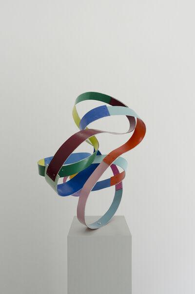 Beat Zoderer, 'Möbius - Schleife', 2011