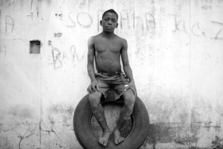 Mário Macilau, 'Sitting on a Tyre, Growing in Darkness Series', 2012-2015