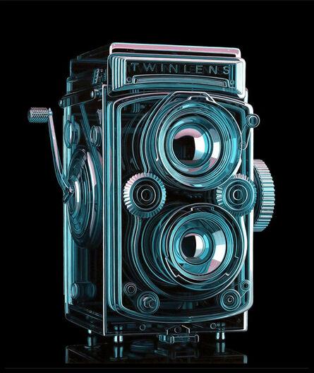Jeff Bartels, 'Glass Twin Lens Camera', 2019