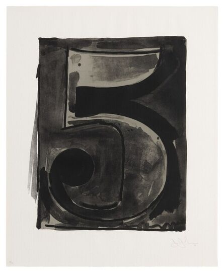 Jasper Johns, 'Figure 5', 1968