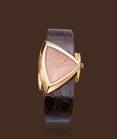 Patek Philippe, 'Pink gold, ref. 3412, assymmetrical'