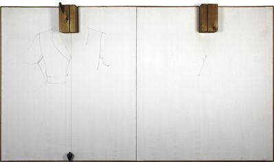 Jim Dine, 'Double Silver Point Robes', 1964