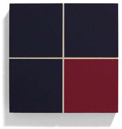 Ronald Davis, 'Three-Quarters Blue-Gray', 2010