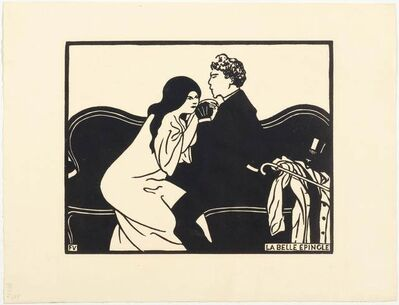 Félix Vallotton, 'La belle épingle', 1897