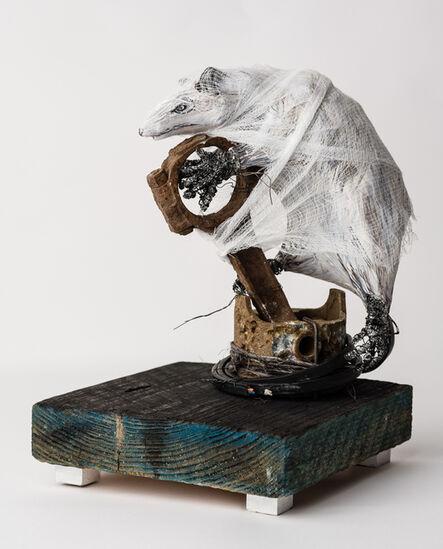 Elizabeth Jordan, 'Small sculpture of a possum: 'Possum Kingdom'', 2019