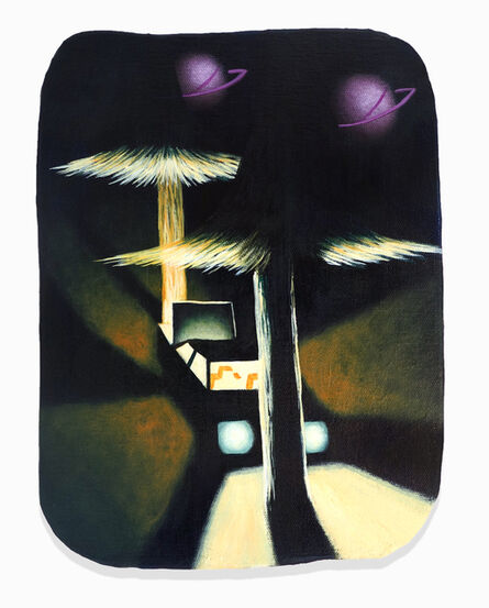 Eliot Greenwald, 'Night Car (Velvet)', 2020