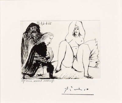 Pablo Picasso, 'La Celestine... from the 347 series', 1968