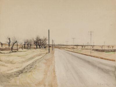 Hagop Hagopian, 'The Road', 1970