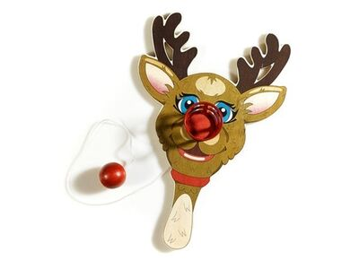 Jeff Koons, 'Rudolph the Red-Nosed Reindeer, Paddle Ball Game', 2000