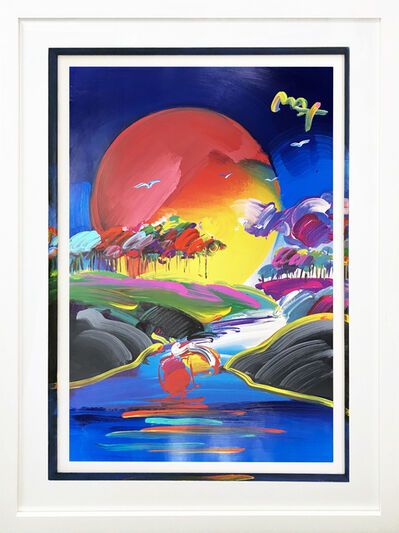 Peter Max, 'WITHOUT BORDERS II 2007 #442', 2007