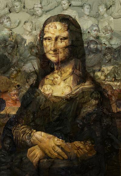 Liu Bolin, 'Mona Lisa', 2016
