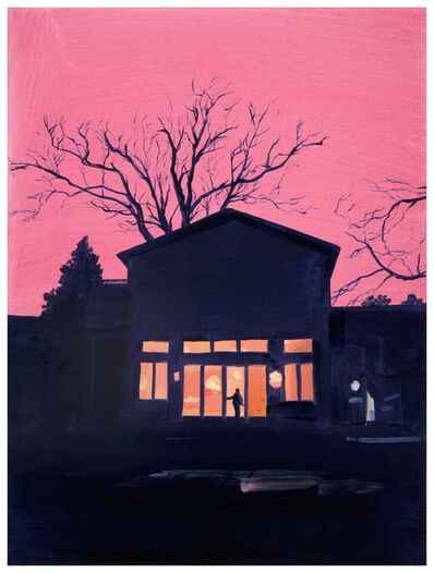 Sebastian Blanck, 'Orange Sky', 2019