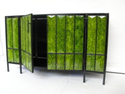 Christophe Côme, 'Green Lava Cabinet', 2012