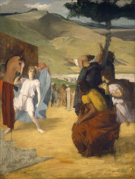 Edgar Degas, 'Alexander and Bucephalus', 1861/1862