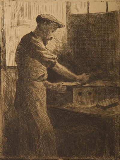 Maximilien Luce, 'Chez Delâtre (Auguste Delâtre au travail) ', 1890