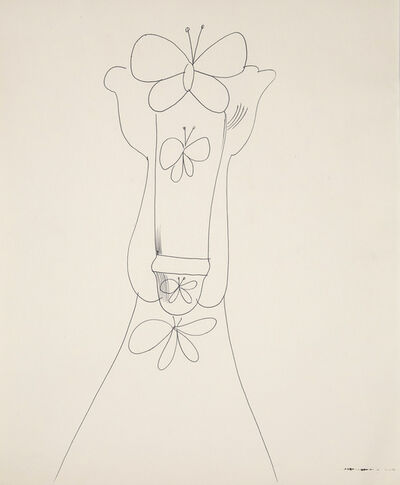 Andy Warhol, 'Mr. Butterfly', 1955