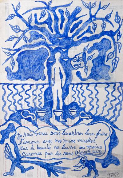 Hervé Yamguen, 'Hommage à Kenneth White #2', 2020