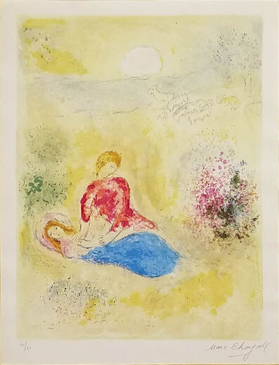Marc Chagall, 'The Little Swallow (Daphnis and Chloe Suite)', 1961