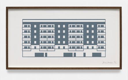 Julian Opie, 'Apartment 7', 2021