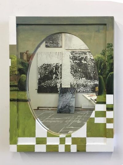 Ellen Harvey, 'Repurposed Mirror', 2016
