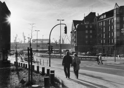 Gabriele Basilico, 'Amburgo, Porto', 1988