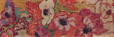 Louis Valtat, 'Panneau d'anémones', ca. 1915
