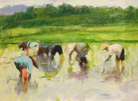 Curt Hanson, 'Rice Planting', ca. 2016