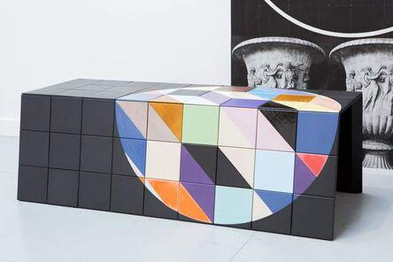 Claudia Wieser, '(Bench 3)', 2015