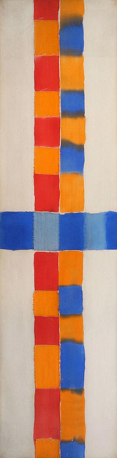 Arthur Wicks, 'Cross Scape', 1973