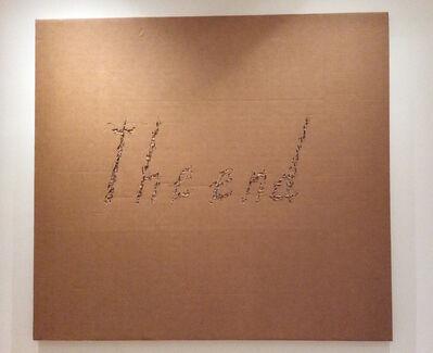 Fabio Mauri, 'The End', 2009