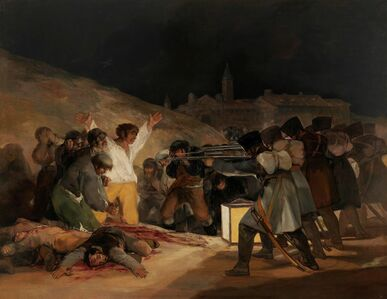 Francisco de Goya, 'The Third of May', 1814