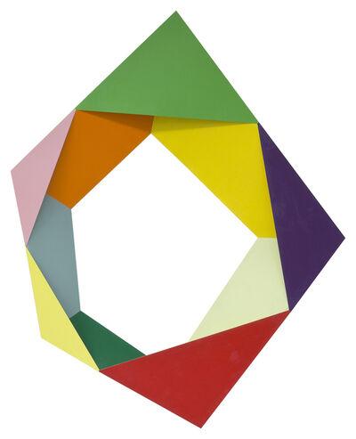 Beat Zoderer, 'Pentagramm No. 2', 2018
