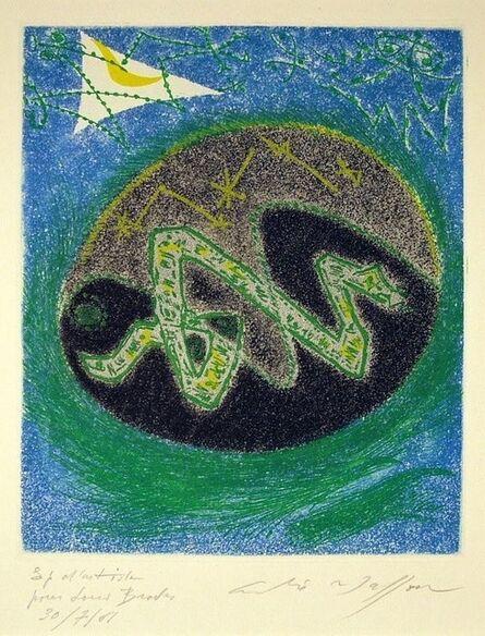André Masson, 'Blue Serpent', 1957
