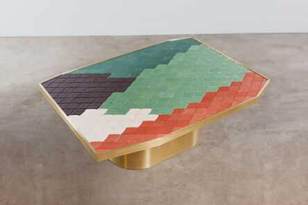 India Mahdavi, 'Landscapes table #3', 2013