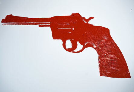 Russell Young, 'Red Revolver', 2008