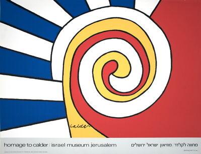 Alexander Calder, 'Homage to Calder', 1977