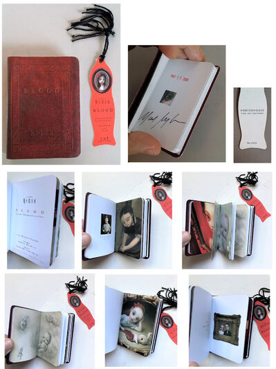 """Mark Ryden, '""""BLOOD- Miniature Paintings w/Sorrow & Fear"""", Miniature Book, SIGNED / Dated Rubber Stamped & Bookmark  ', 2006"""