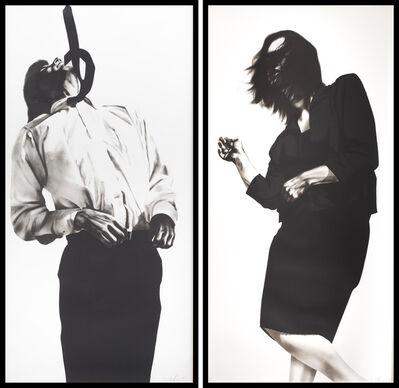 Robert Longo, 'Gretchen & Eric from Men in the Cities', 1985