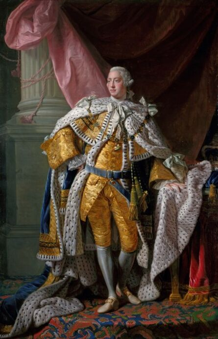 Allan Ramsay, 'George III (1738-1820)', 1761-1762