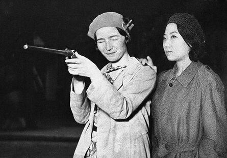 Silin Liu 刘思麟, 'Simone de Beauvoir & Celine Liu I', 2013