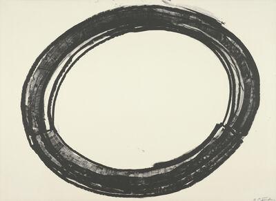 Richard Serra, 'Double Ring II', 1972