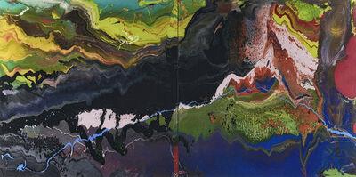 Gerhard Richter, 'Flow (P16)', 2016